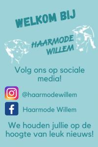 Volg Haarmode Willem!